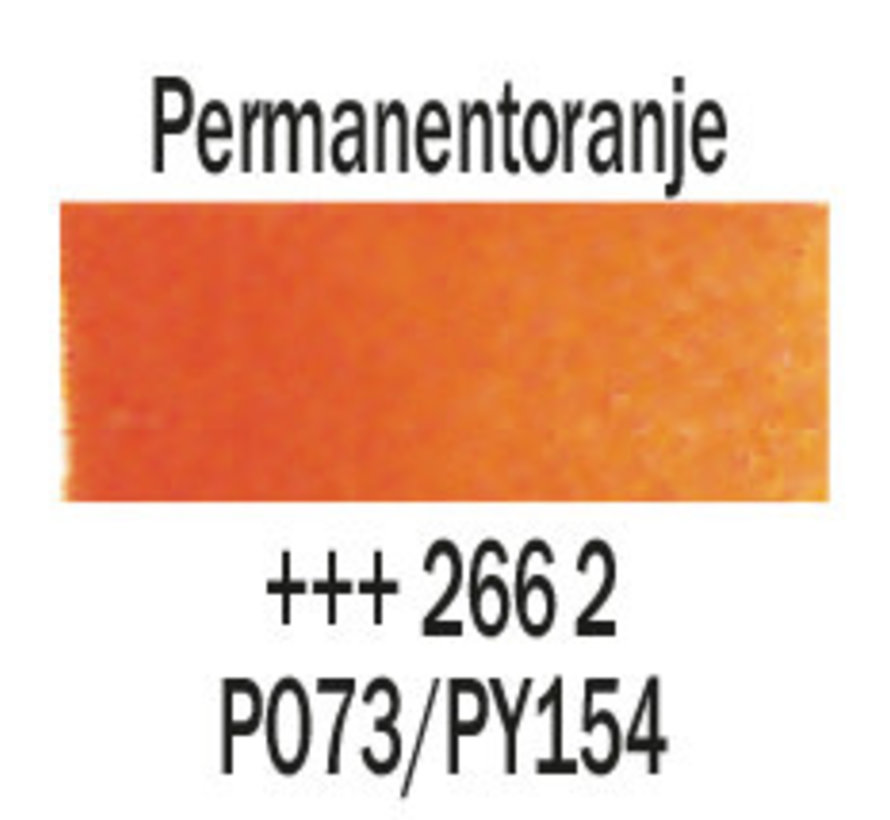 Aquarelverf 20ml Permanentoranje 266