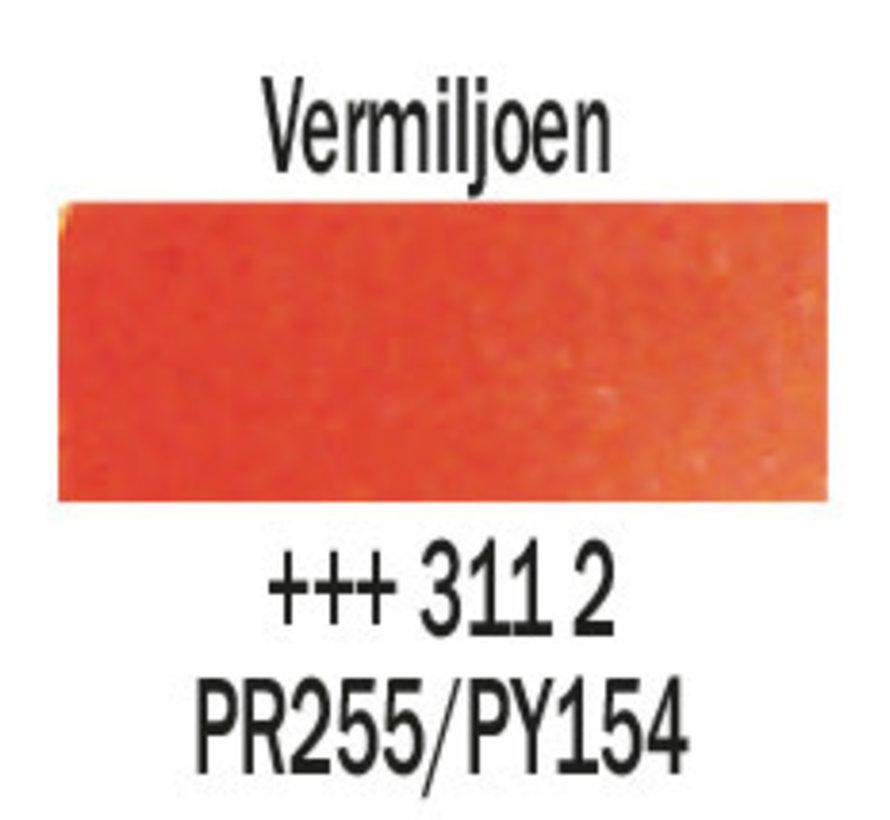 Aquarelverf 20ml Vermiljoen 311