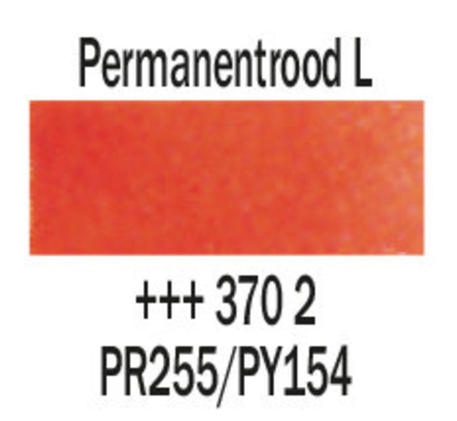 Aquarelverf 20ml Permanentrood licht 370
