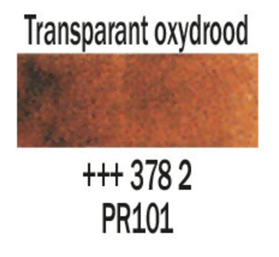 Aquarelverf napje Transparantoxydrood 378
