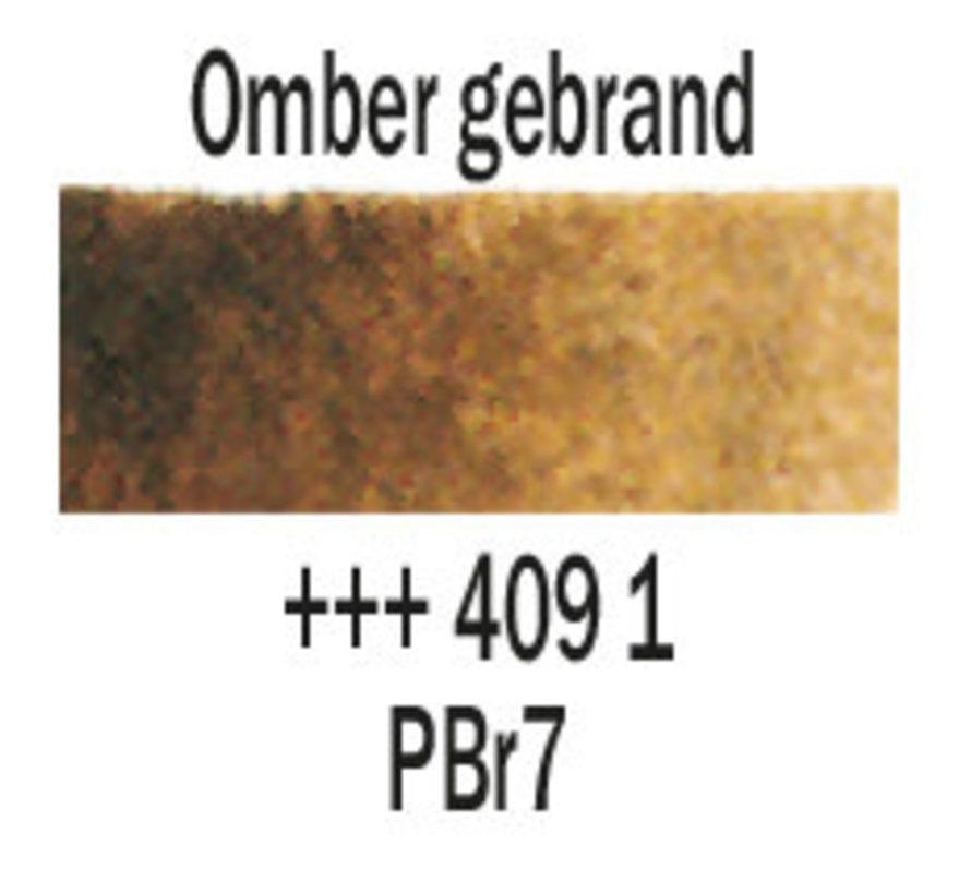 Aquarelverf napje Omber gebrand 409