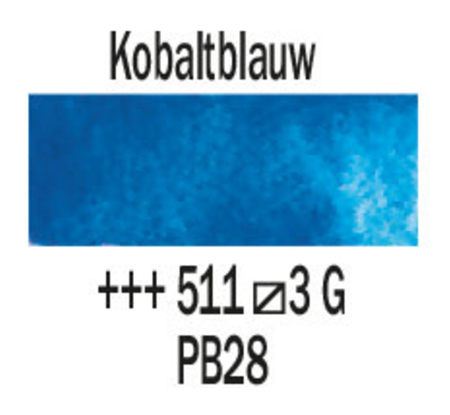 Aquarelverf napje Kobaltblauw 511