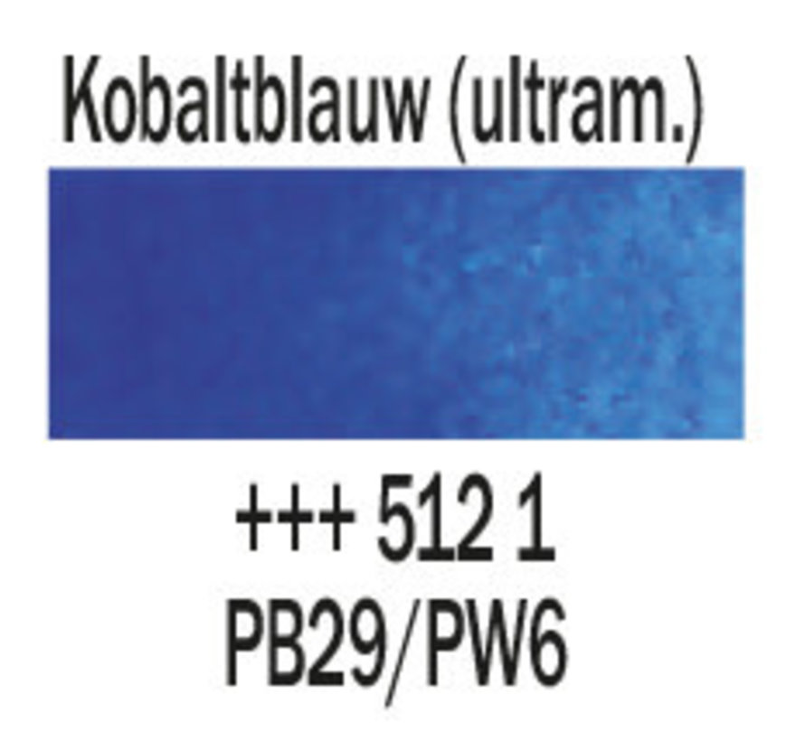 Aquarelverf 20ml Kobaltblauw ultramarijn 512