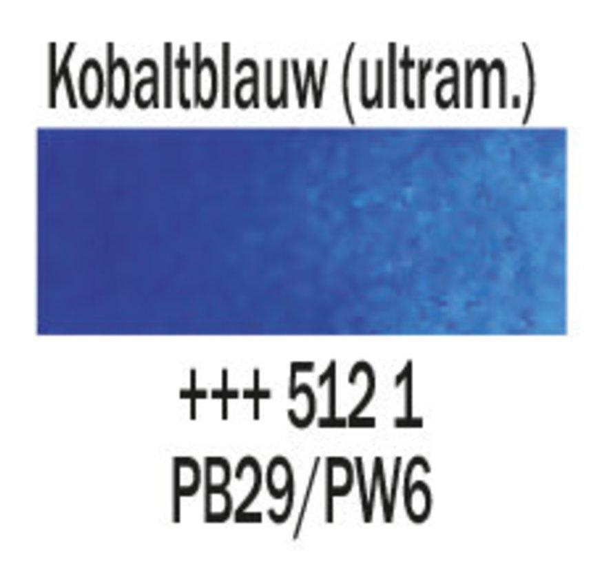 Aquarelverf 5ml Kobaltblauw ultramarijn 512