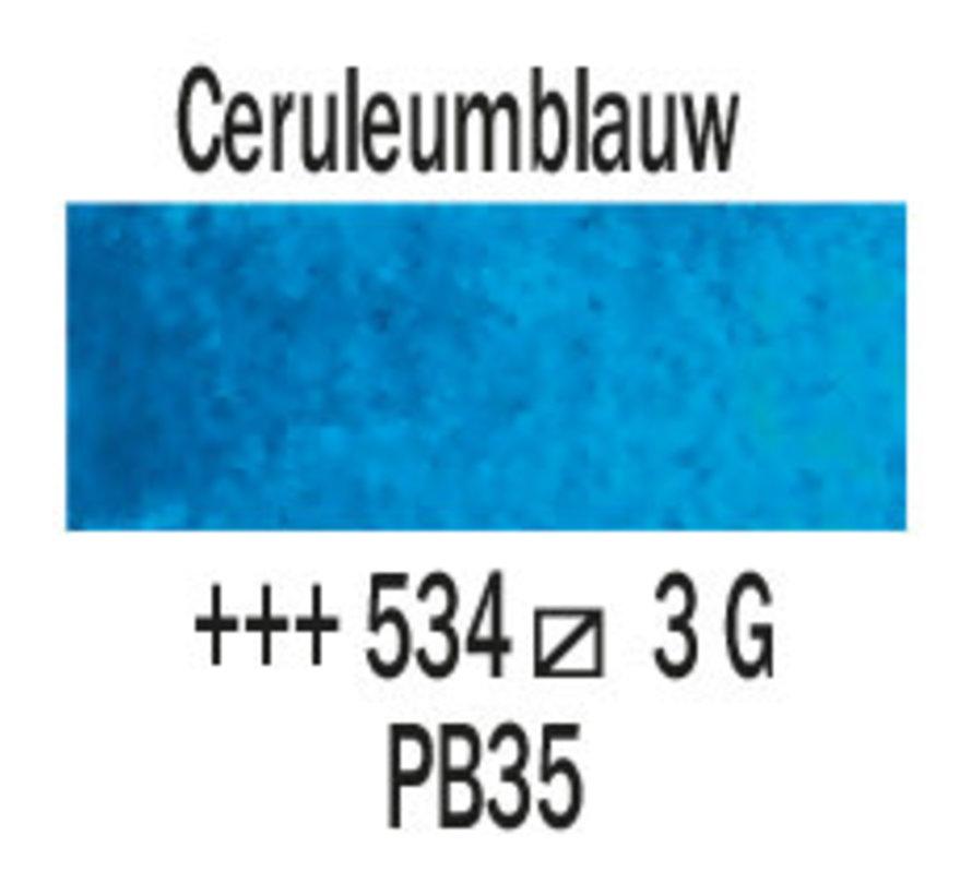 Aquarelverf 5ml Ceruleumblauw 534
