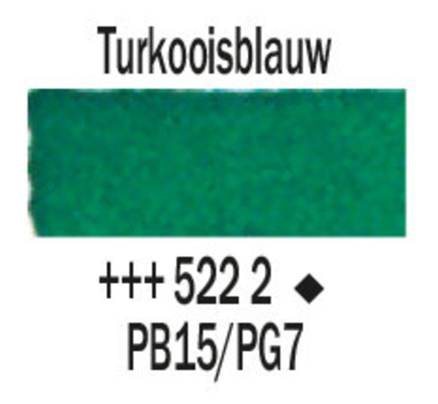 Aquarelverf 5ml Turkooisblauw 522