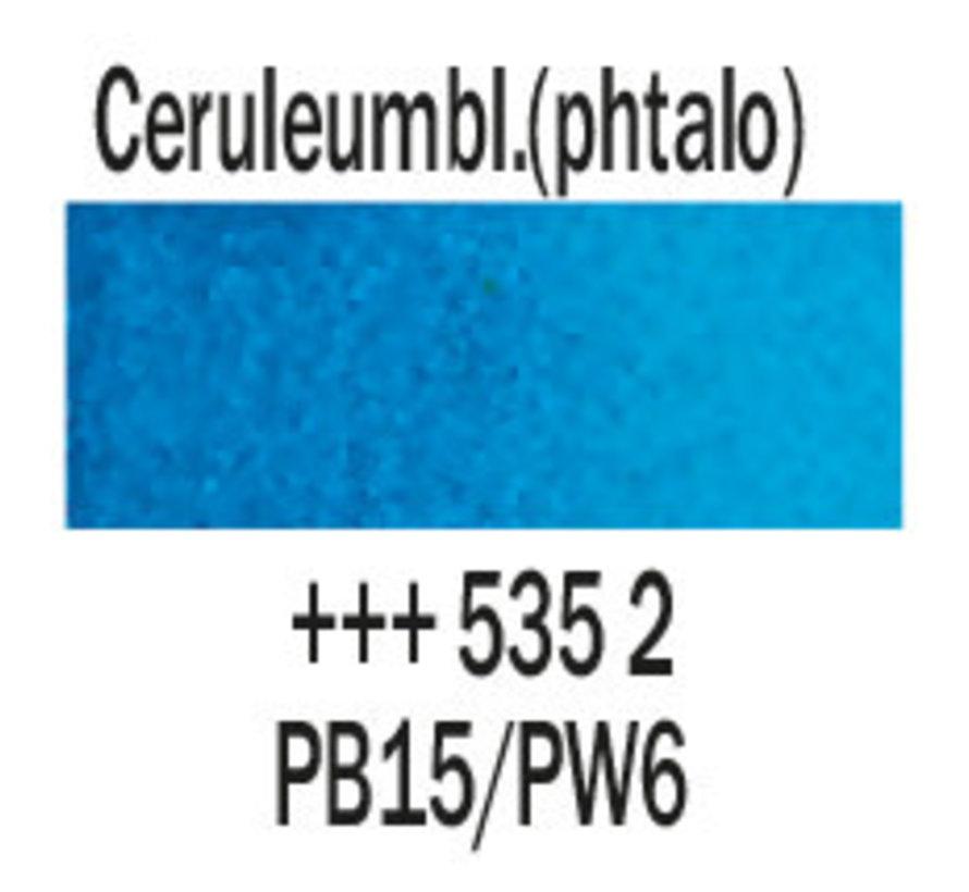 Aquarelverf napje Ceruleumblauw phtalo 535