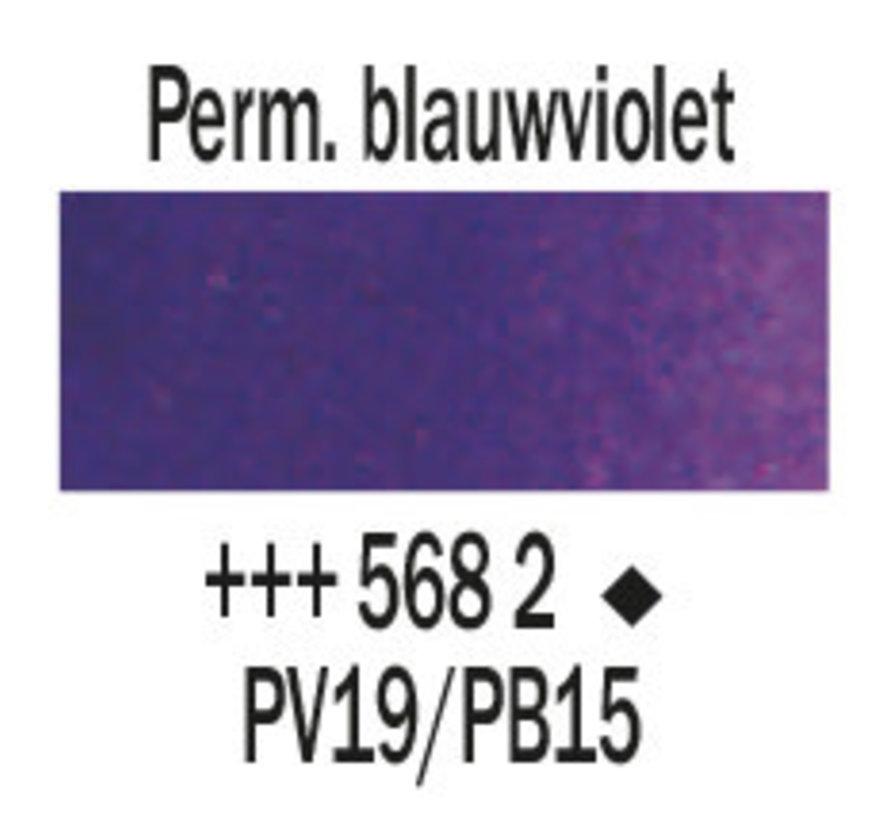 Aquarelverf 5ml Permanentblauwviolet 568