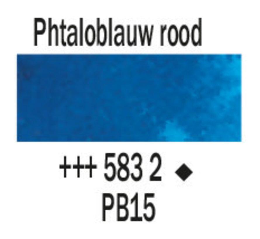 Aquarelverf 5ml Phtaloblauw rood 583