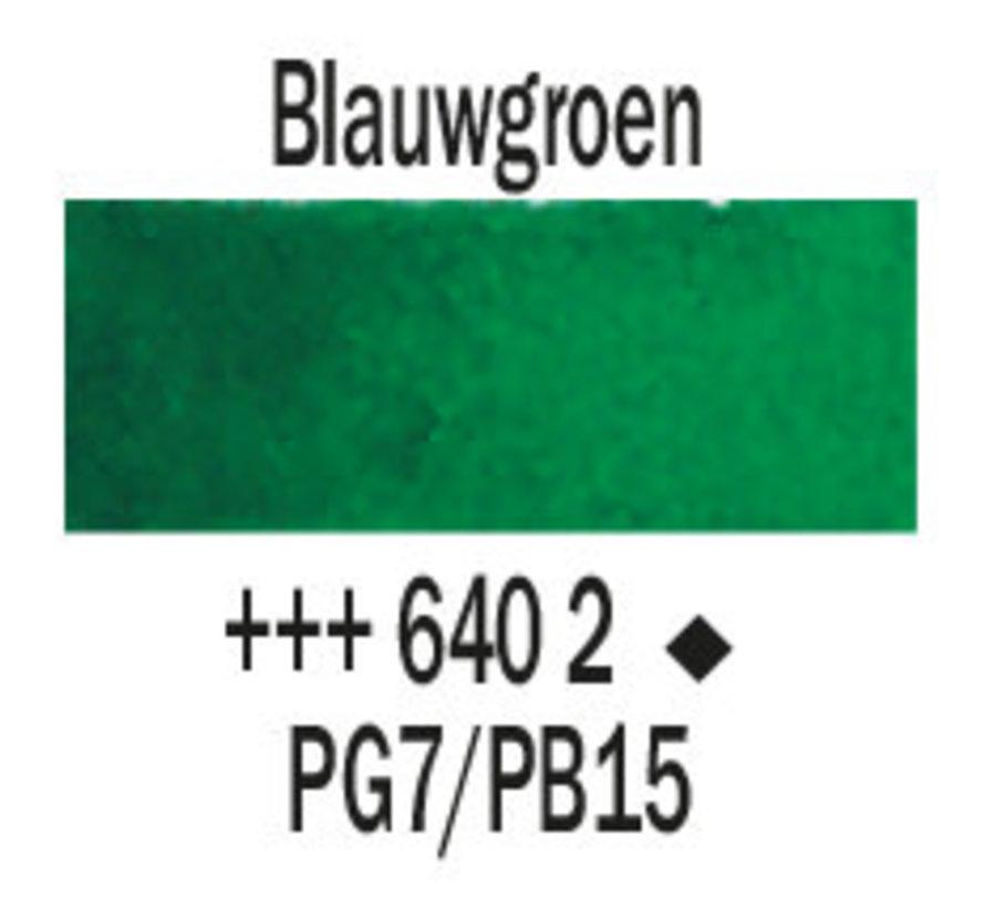 Aquarelverf 5ml Blauwgroen 640
