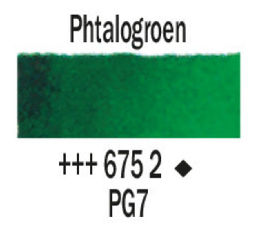 Aquarelverf 20ml Phtalogroen 675