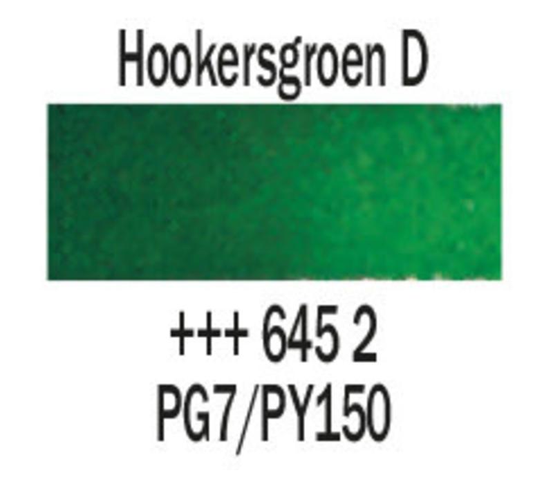 Aquarelverf napje Hookersgroen donker 645