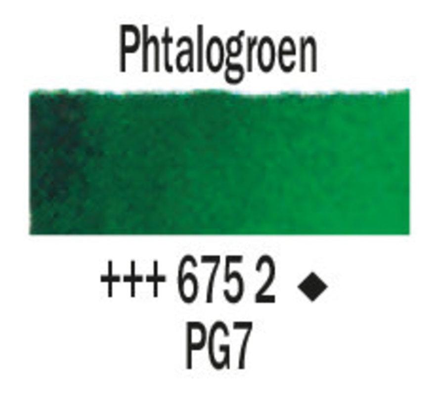 Aquarelverf 5ml Phtalogroen 675