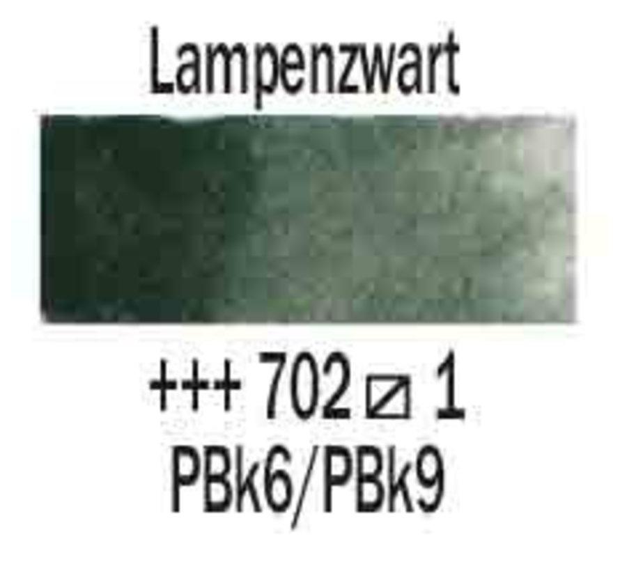 Aquarelverf 5ml Lampenzwart 702