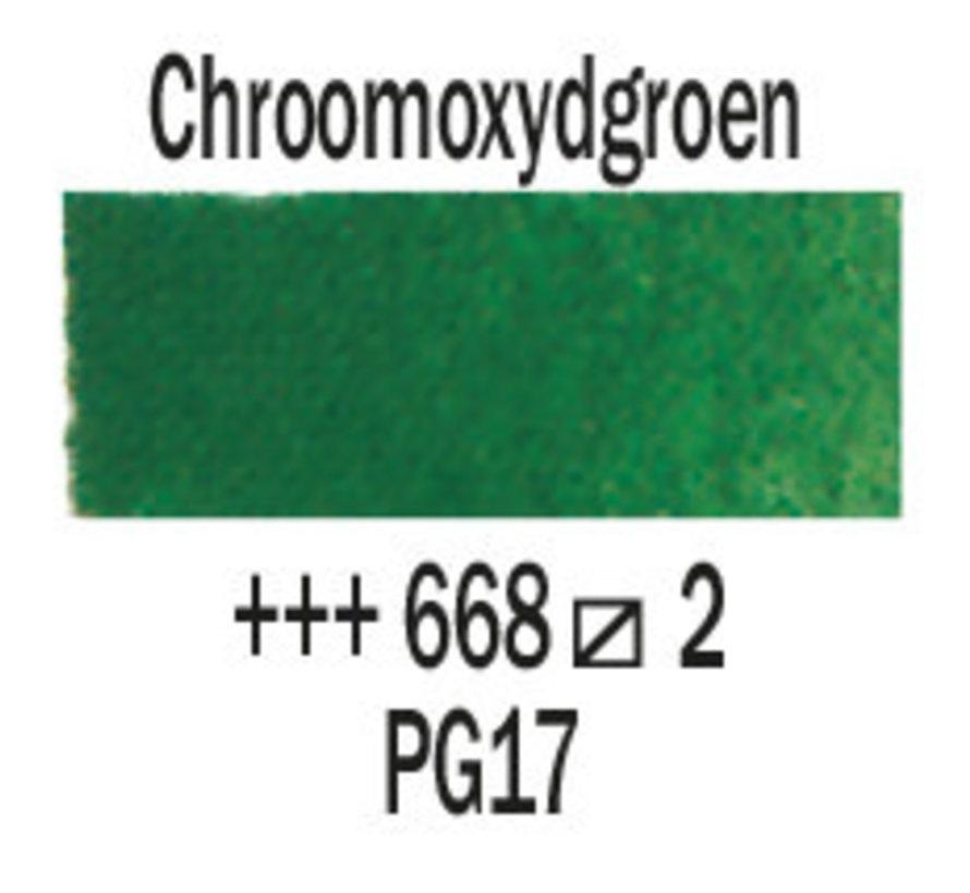 Aquarelverf 5ml Chroomoxydgroen 668