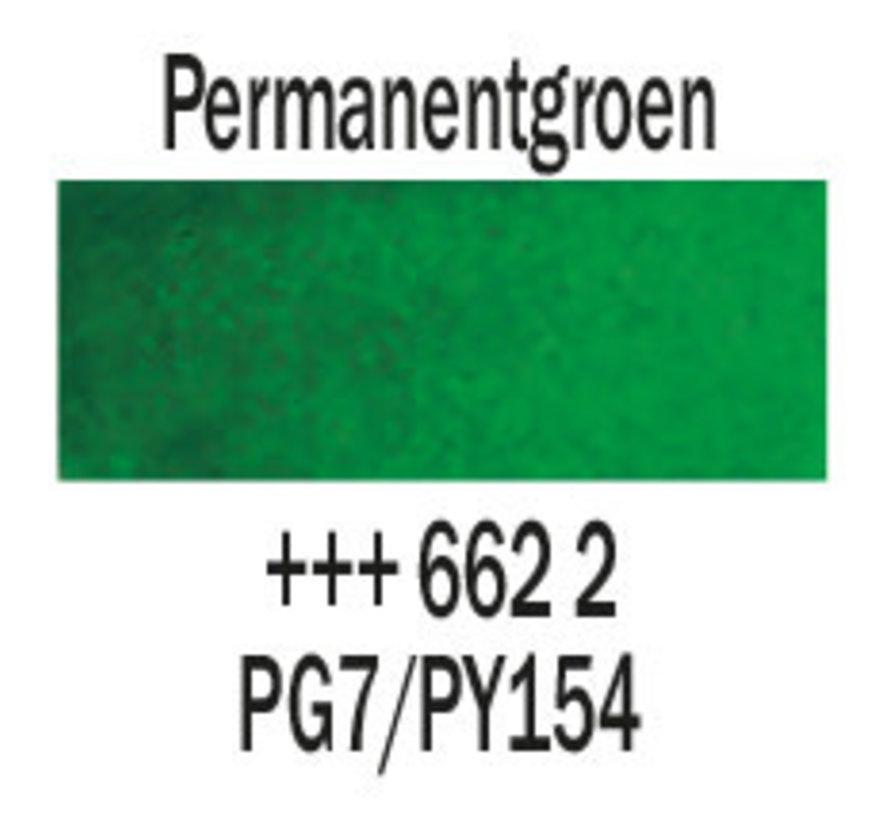 Aquarelverf napje Permanentgroen 662