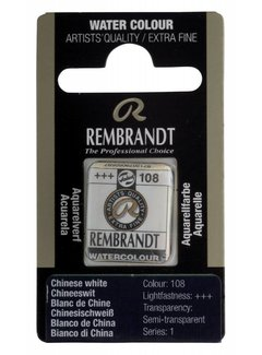 Rembrandt Aquarelverf napje Chineeswit 108