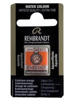 Rembrandt Aquarelverf napje Cadmiumoranje 211