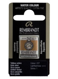 Rembrandt Aquarelverf napje Gele oker 227