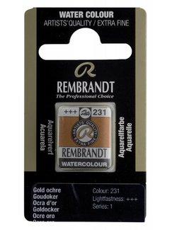Rembrandt Aquarelverf napje Goudoker 231