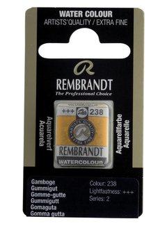 Rembrandt Aquarelverf napje Gummigut 238