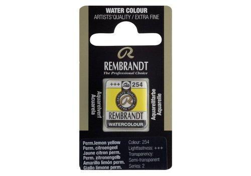 Rembrandt Aquarelverf napje Perm. citroengeel 254