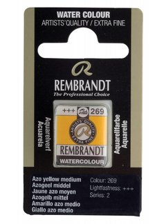 Rembrandt Aquarelverf napje Azogeel middel 269