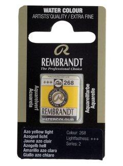 Rembrandt Aquarelverf napje Azogeel licht 268