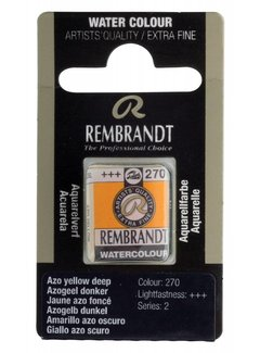 Rembrandt Aquarelverf napje Azogeel donker 270