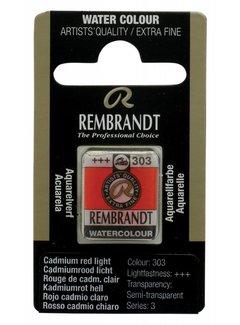 Rembrandt Aquarelverf napje Cadmiumrood licht 303