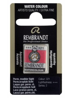 Rembrandt Aquarelverf napje Permanentkraplak licht 321