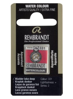 Rembrandt Aquarelverf napje Kraplak donker 331