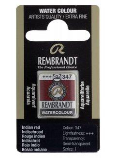 Rembrandt Aquarelverf napje Indischrood 347