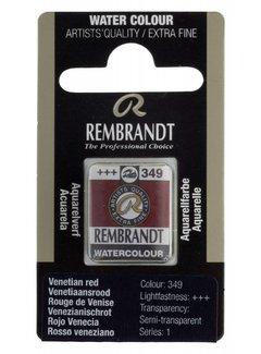 Rembrandt Aquarelverf napje Venetiaansrood 349