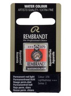 Rembrandt Aquarelverf napje Permanentrood licht 370