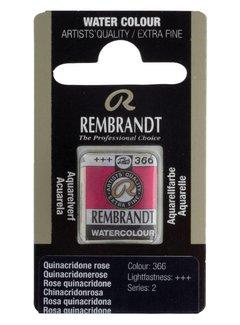 Rembrandt Aquarelverf napje Quinacridonerose 366