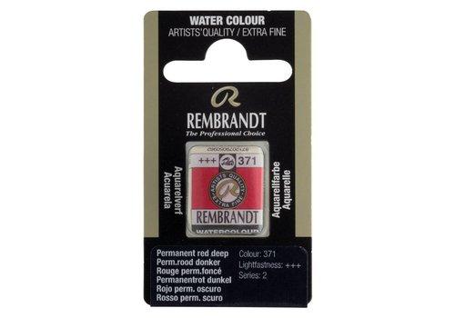 Rembrandt Aquarelverf napje Permanentrood donker 371