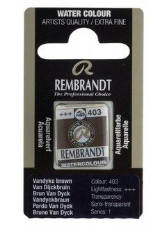 Rembrandt Aquarelverf napje Van Dijckbruin 403