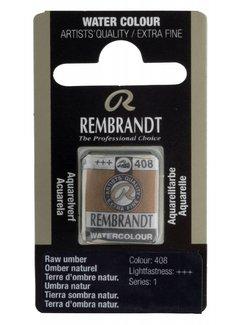 Rembrandt Aquarelverf napje Omber naturel 408
