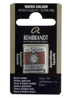 Rembrandt Aquarelverf napje Omber gebrand 409