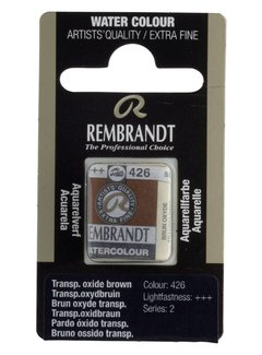 Rembrandt Aquarelverf napje Transparantoxydbruin 426
