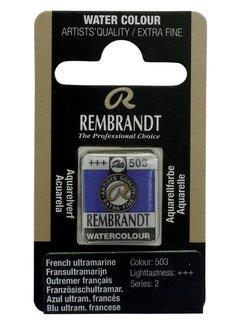 Rembrandt Aquarelverf napje Fransultramarijn 503