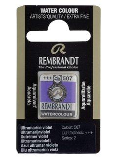 Rembrandt Aquarelverf napje Ultramarijnviolet 507