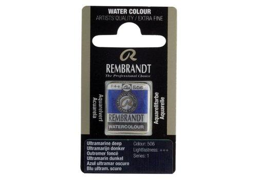 Rembrandt Aquarelverf napje Ultramarijn donker 506