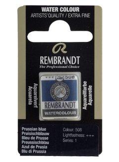 Rembrandt Aquarelverf napje Pruisischblauw 508