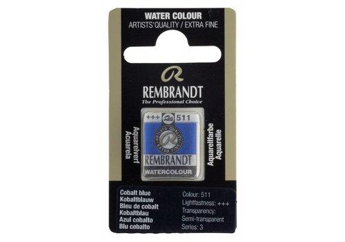 Rembrandt Aquarelverf napje Kobaltblauw 511