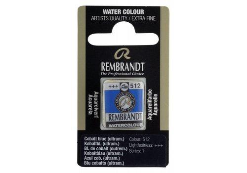 Rembrandt Aquarelverf napje Kobaltblauw ultramarijn 512