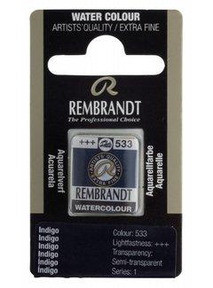 Rembrandt Aquarelverf napje Indigo 533