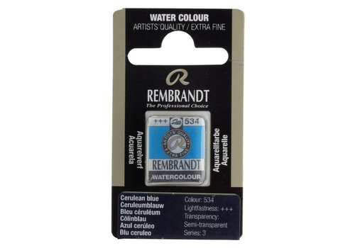 Rembrandt Aquarelverf napje Ceruleumblauw 534