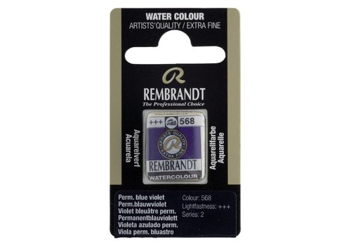 Rembrandt Aquarelverf napje Permanentblauwviolet 568